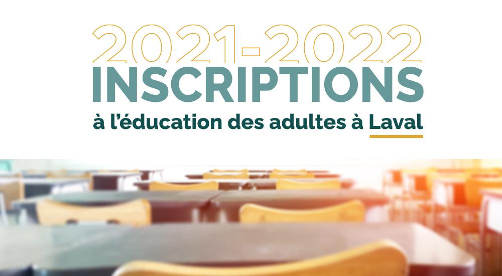 Inscription en cours pour l'année 2021 et 2022