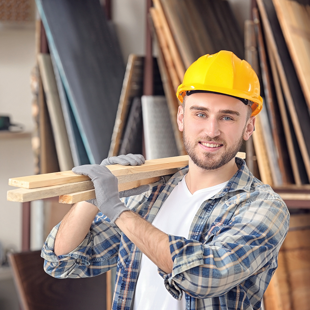Manœuvre polyvalent en construction