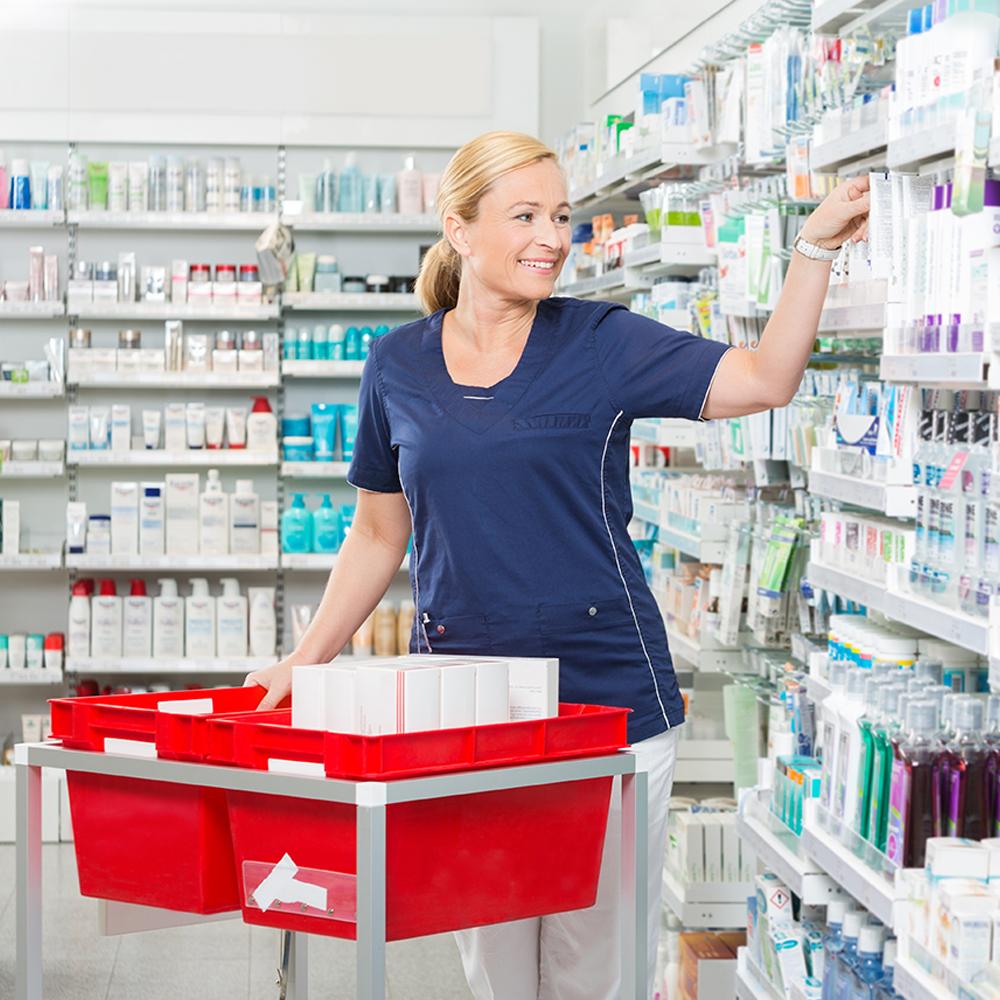 Personnel de soutien en pharmacie